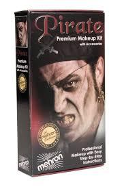 pirate makeup kit mehron kmp p
