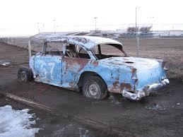 File:Old demolition derby racer - 1955 Chevrolet 150 (2321024737 ...