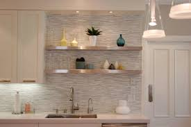 image of contemporary kitchen backsplash color