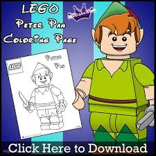Small Picture Free Lego Peter Pan Printable Coloring Page SKGaleana