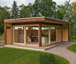 Small Picture Wooden garden shed modern design compact Pinterest Modern