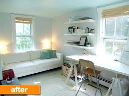 home office and guest room. Interesting Room Office Guest Room Ideas Bedroom And Combo Amazing  With Before After A Stylish Small Home  In