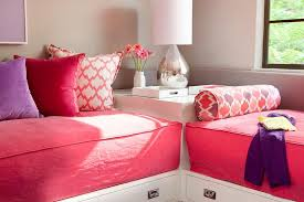 day beds for girls. Fine Beds Shared Girls Room Daybeds In L Formation Intended Day Beds For