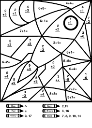40 Math Coloring Pages 2nd Grade, Math Second Grade Colouring ...