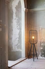 Tafellamp Staande Landelijke Draad Vloerlamp Lichts Oud Zilver