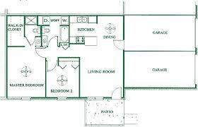 Granite Property Management CoFloor Plans With Garage