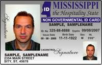 Ms - Identification sticken Card co Koran