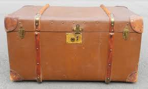 victorian travel trunk coffee table