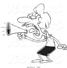 Small Picture Megaphone Coloring Page esonme