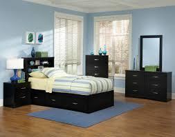 Kids Bedroom Furniture Storage Jacob Twin Black Storage Bedroom Set Kids Bedroom Sets