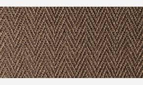 alternative flooring natural sisal herringbone carpet in a dark brown colour