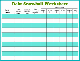 Debt Tracker Spreadsheet 38 Debt Snowball Spreadsheets Forms Calculators
