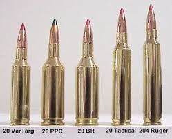 Centerfire Bullet Size Chart Twenty Caliber Cartridge Guide