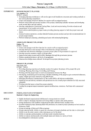 project scheduler resumes project planner resume samples velvet jobs