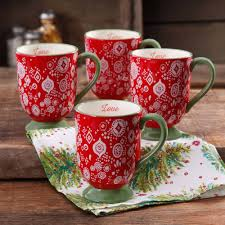 Ratings, based on 41 reviews. The Pioneer Woman 15 5oz Latte Mug Set Of 4 Walmart Com Pioneer Woman Kitchen Pioneer Woman Dinnerware Pioneer Woman Kitchen Decor