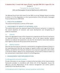 Strategic Management Report Template 6 Professional Development – Rigaud