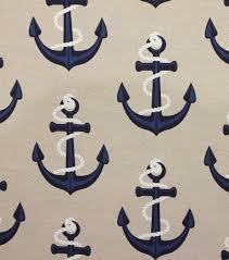 Nautical Home Decor Fabric Solarium Outdoor Fabric Bouy Nautical Outdoor Outdoor Fabric