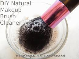 diy natural makeup brush cleaner