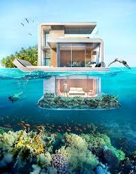 Houseboat with Underwater Ocean Views! Take the tour here: http://www