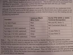 hunter thermostat wiring diagram 44260 images wiring diagram hunter thermostat 44260 wiring diagram wiring diagram