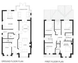 image of 4 bedroom 3 bath house plans with basement ceiling