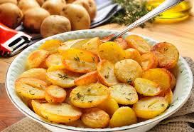 Cura de slabire cu cartofi fierti
