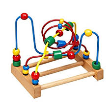 Wooden Bead Game Wooden Toys Wooden Bead Maze Amazoncouk Toys Games 65