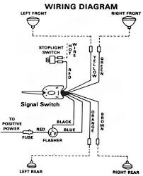 wiring diagram for golf cart turn signals the with signal