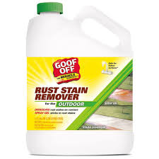 How To Clean Rust Stains Goof Off 128 Oz Rust And Stain Remover Gsx00101 The Home Depot