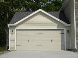 garage doors. Contemporary Garage Craftsman Style Trim And Garage Doors