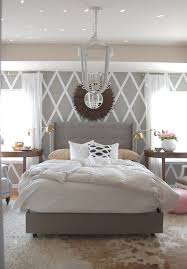 building grey tufted headboard for bed  best home decor inspirations