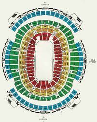 70 Conclusive Msg Seating Chart Phil Collins