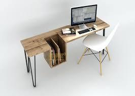 Trendy Office Desks Layout Stylish Computer Desk Buy Simple And Home Wood  Desktop Modern Furniture Australia