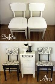 fabric needed for dining room chairs. engamado------reclaim old dining room chairs - got the chairs, just need to find inspirational fabric/paper. fabric needed for r