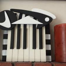 key hanger made from piano keys on recycled wood and parts from recycled piano in googie on piano themed wall art with wooden love sign wall decor wall art from artofshoo on etsy