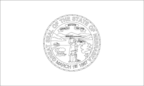 Nebraska State Seal Coloring Page And Flag Coloring Page ...