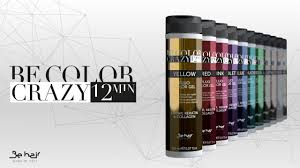 Sensus Hair Colour Chart Ammonia Free Direct Color Gel Be Hair Italy