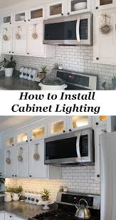 upper cabinet lighting. How To Install Upper And Lower Kitchen Cabinet Lighting I
