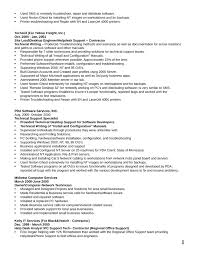 Astonishing Design Technical Support Specialist Resume Technical