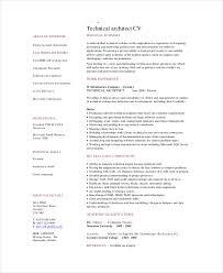 Architectural Designer Resume Job Description Architect Resume Template 5 Free Word Pdf Documents