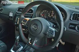 2013 Volkswagen Polo GTI steering wheel  