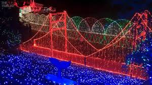 Cambria Lights 2018 Cambria Christmas Market Features Lights Food Train Rides