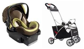 car seat features