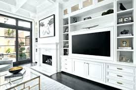 custom built shelves cabinets units alcove in shelving traditional