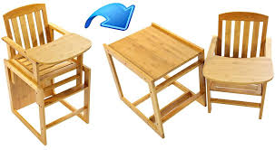 wooden high chair with table wooden high chair 2 in 1 feeding high chair table seat