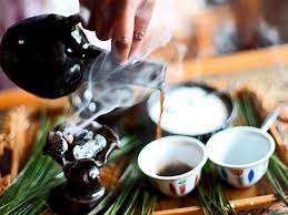 Lots of sugar is added. Ethiopia Buna Coffee Culture Around The World Travelchannel Com Ethiopian Coffee Ceremony Ethiopian Coffee Coffee Around The World