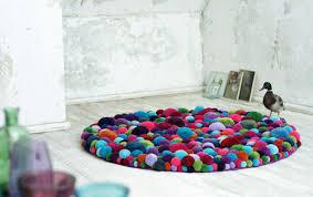 View in gallery fun carpets bommel myk 1 Pom Pom Rugs by MYK