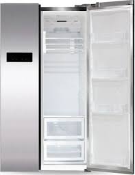 <b>Холодильник</b> Side by Side <b>Ginzzu NFK</b>-<b>605</b> стальной купить в ...