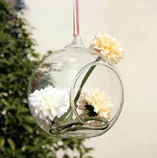 Decorative Hanging Glass Balls Awesome Decorative Hanging Glass Balls Vases Ceiling Drop Ball Artificial