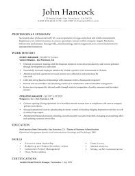 Successful Resume Example Resume Examples Hloom Com